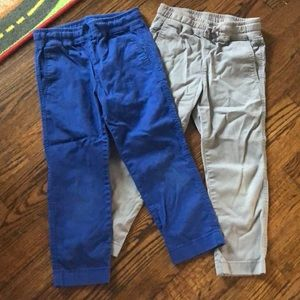 Crewcuts boys stretch cotton pull on pants